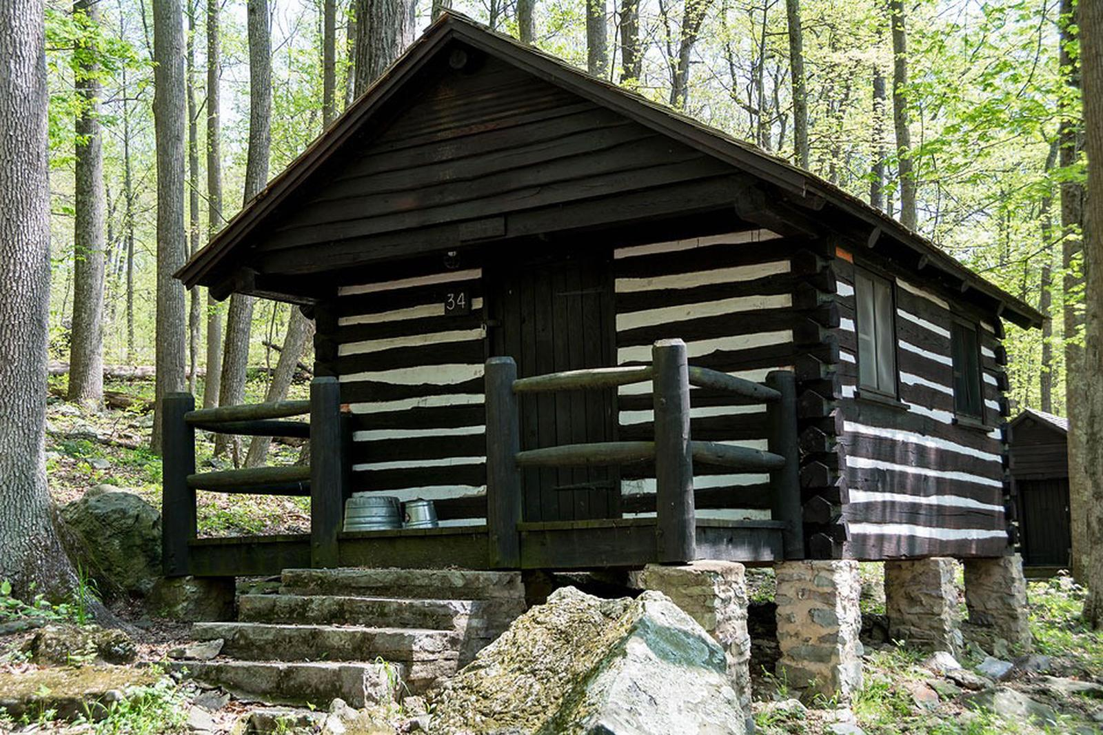 Camp Misty Mount Cabin 34