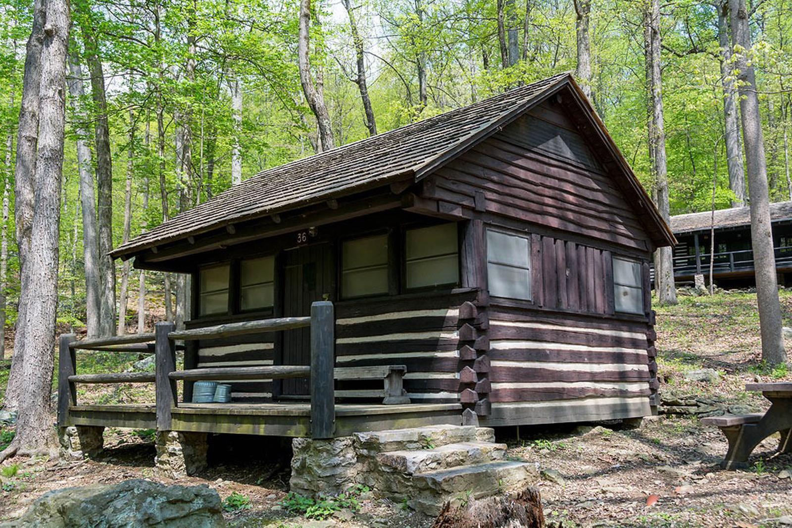 Camp Misty Mount Cabin 36