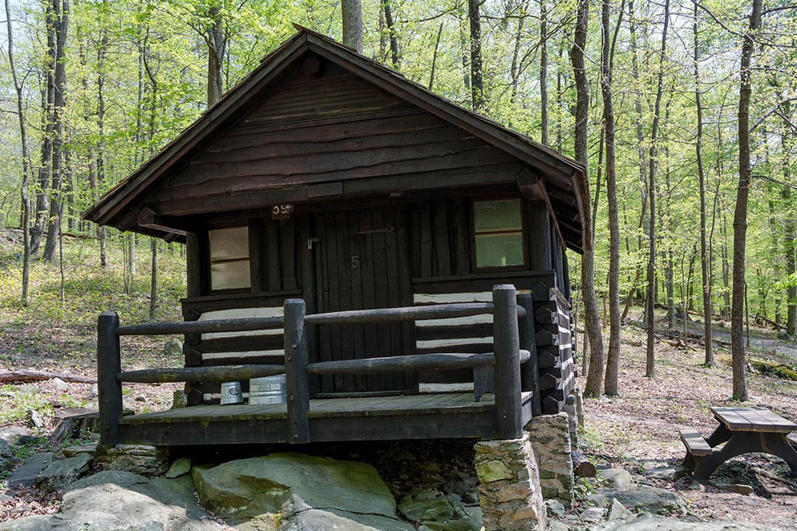 Camp Misty Mount Cabin 39