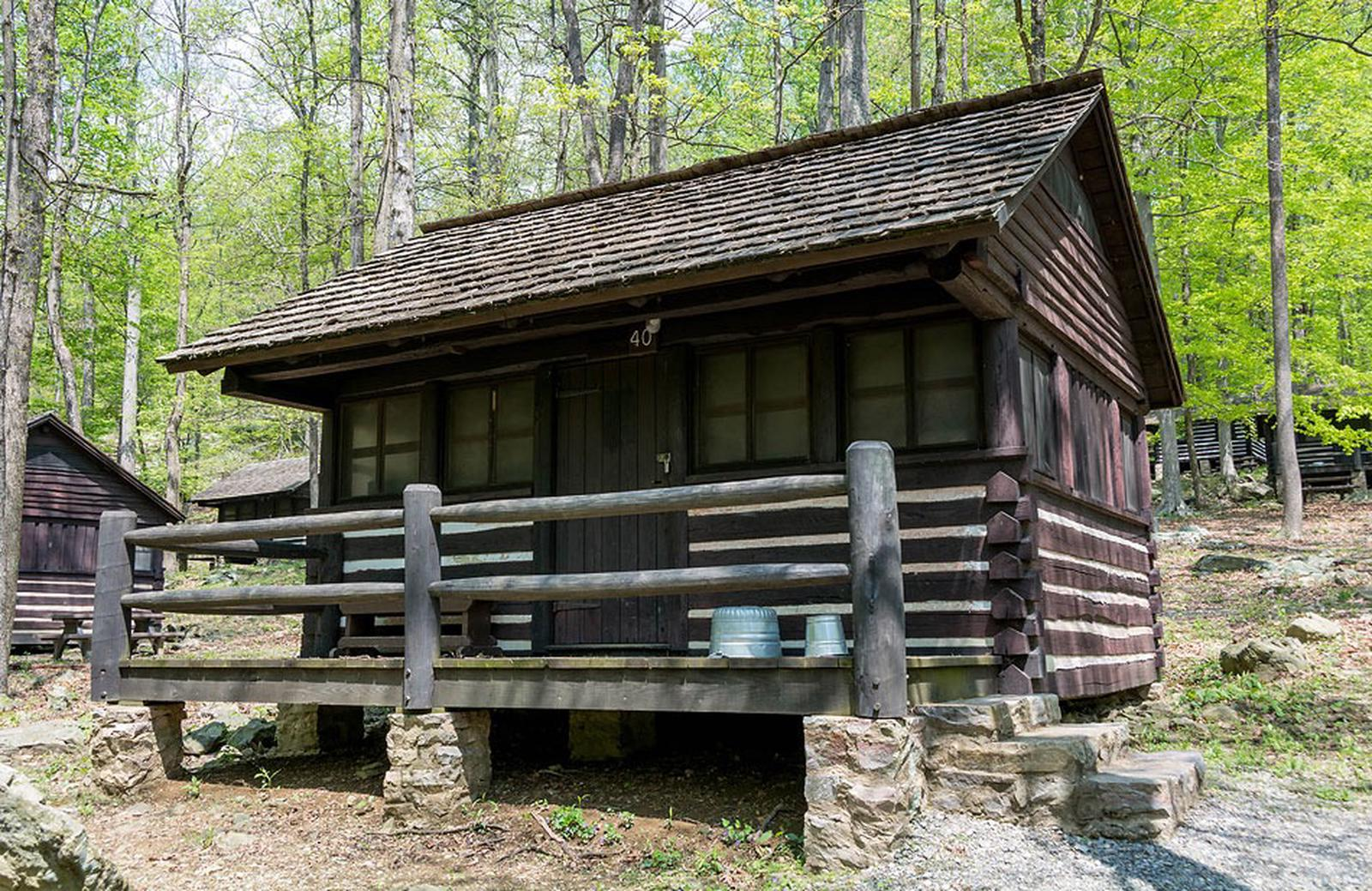 Camp Misty Mount Cabin 40