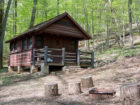 Camp Misty Mount Cabin 49