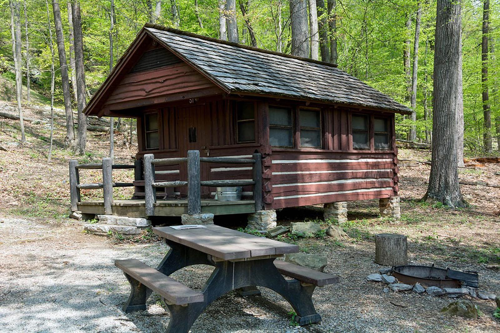 Camp Misty Mount Cabin 51