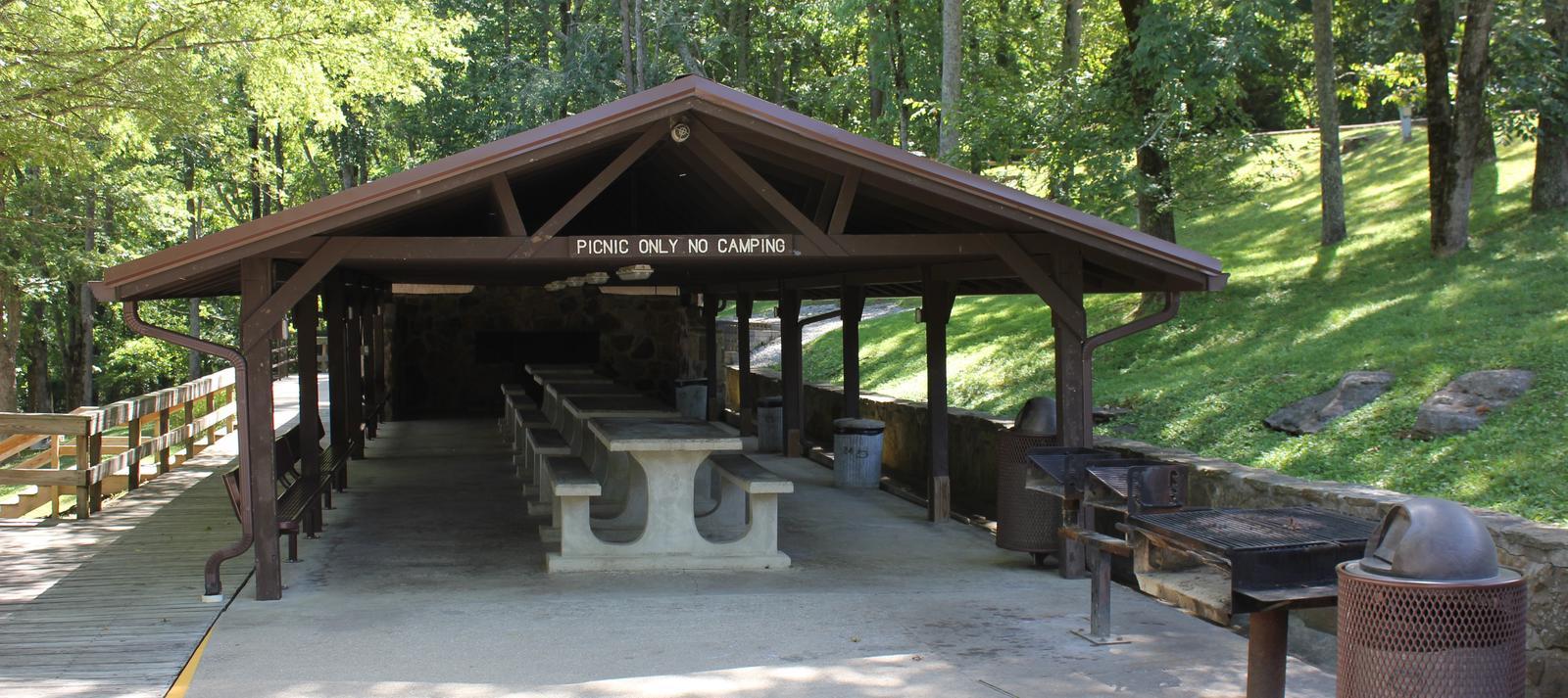 Group Picnic Shelter Group Picnic Shelter
