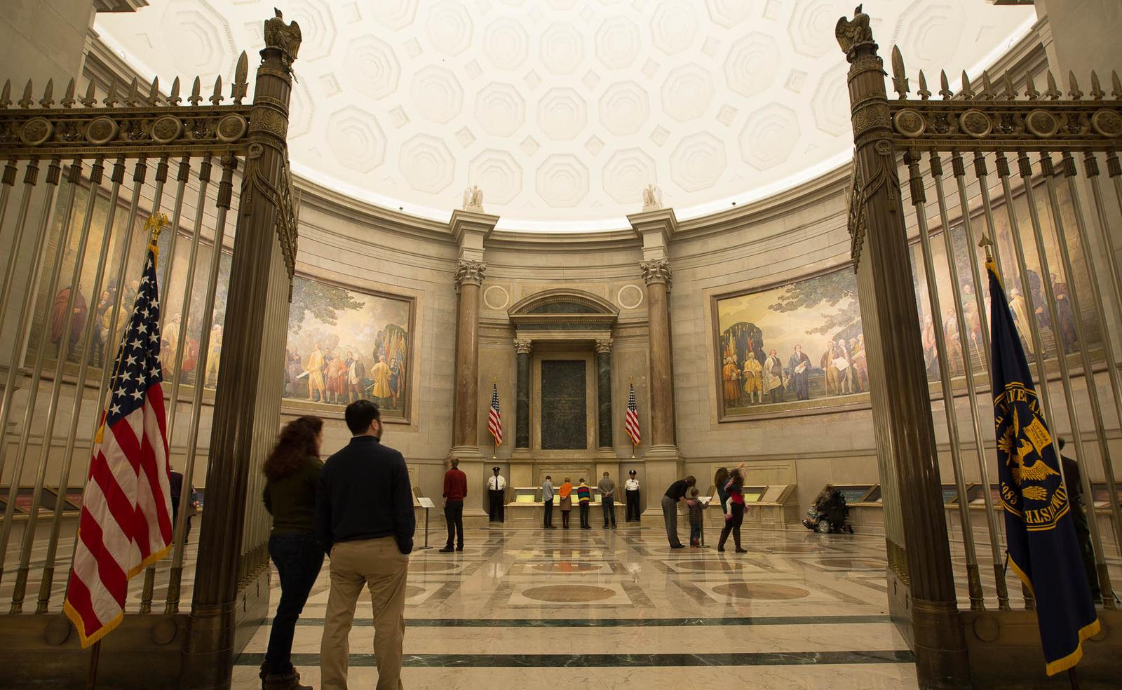 The Rotunda for the Charters of Freedom.