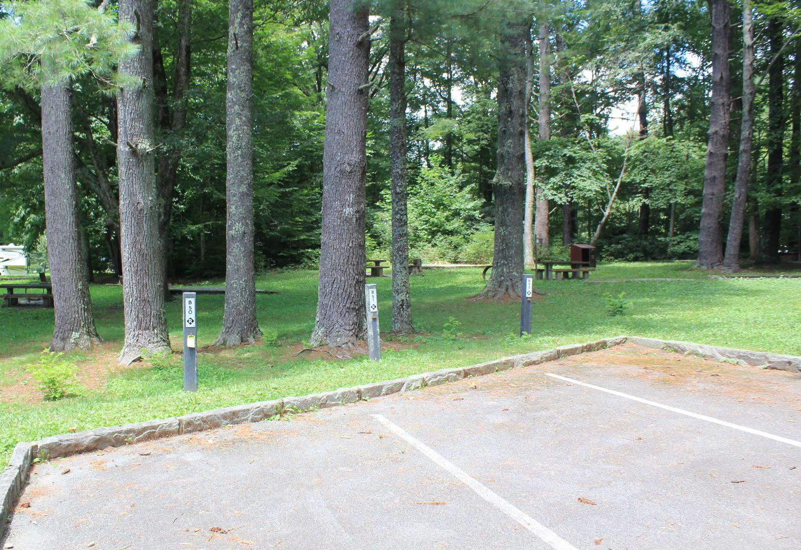 B Loop Site 52 - Tent Nonelectric