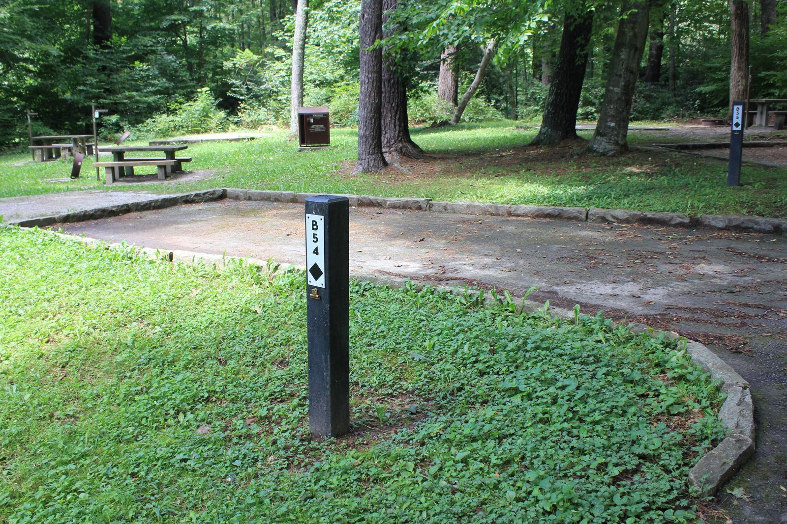 B Loop Site 54 - Tent Nonelectric