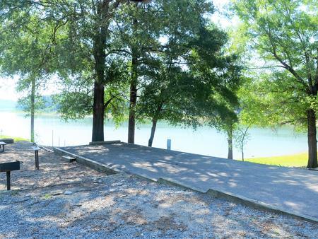 Gillham Lake Big Coon Creek Park Campsite # 09Campsite #09