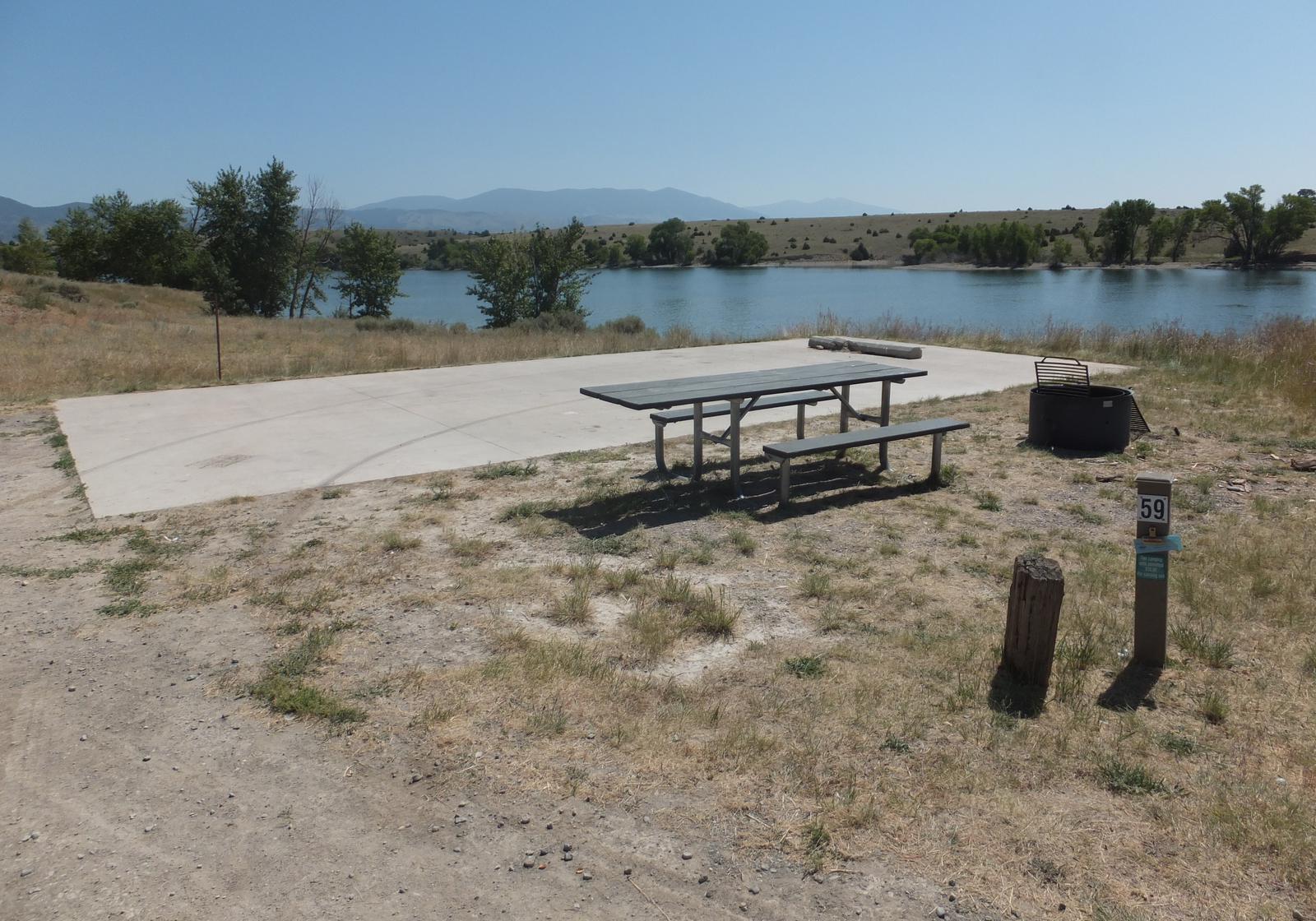 Hellgate Campground - Campsite 59