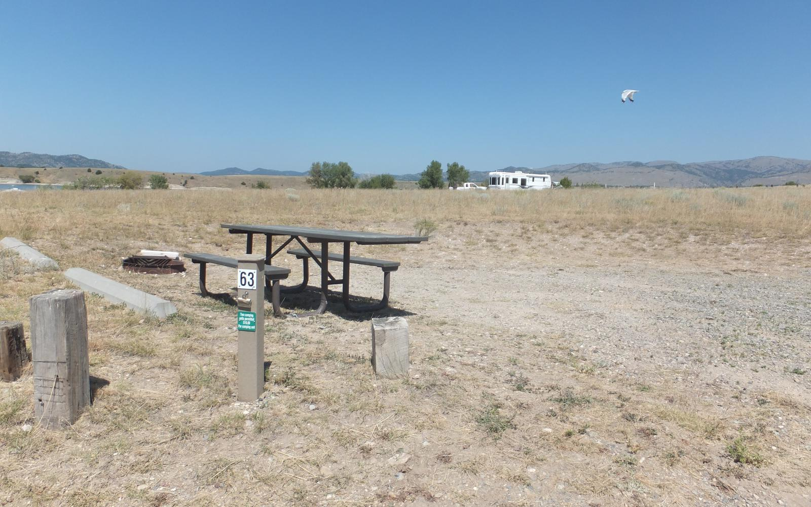 Hellgate Campground - Campsite 63