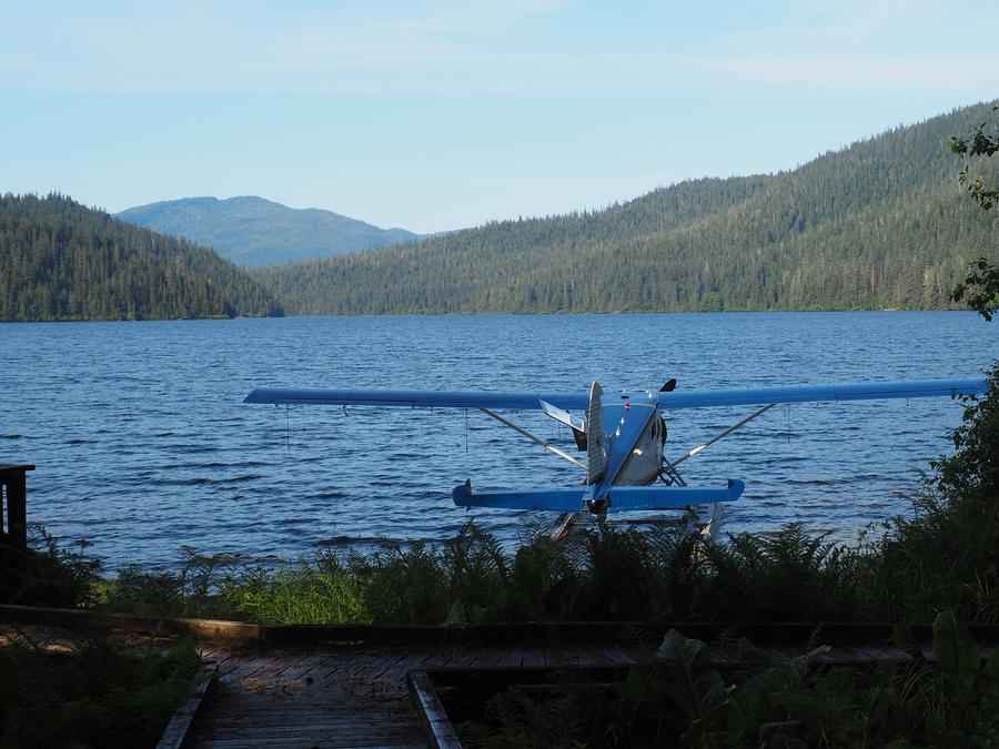 Floatplane on Virginia Lake