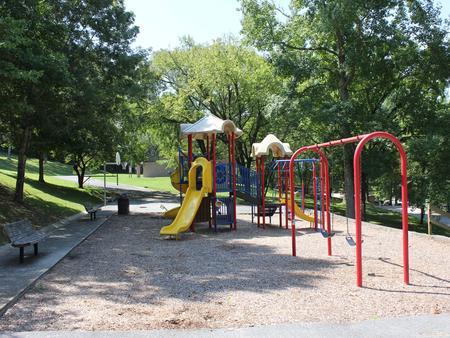 Campground Playground & Basketball Goal