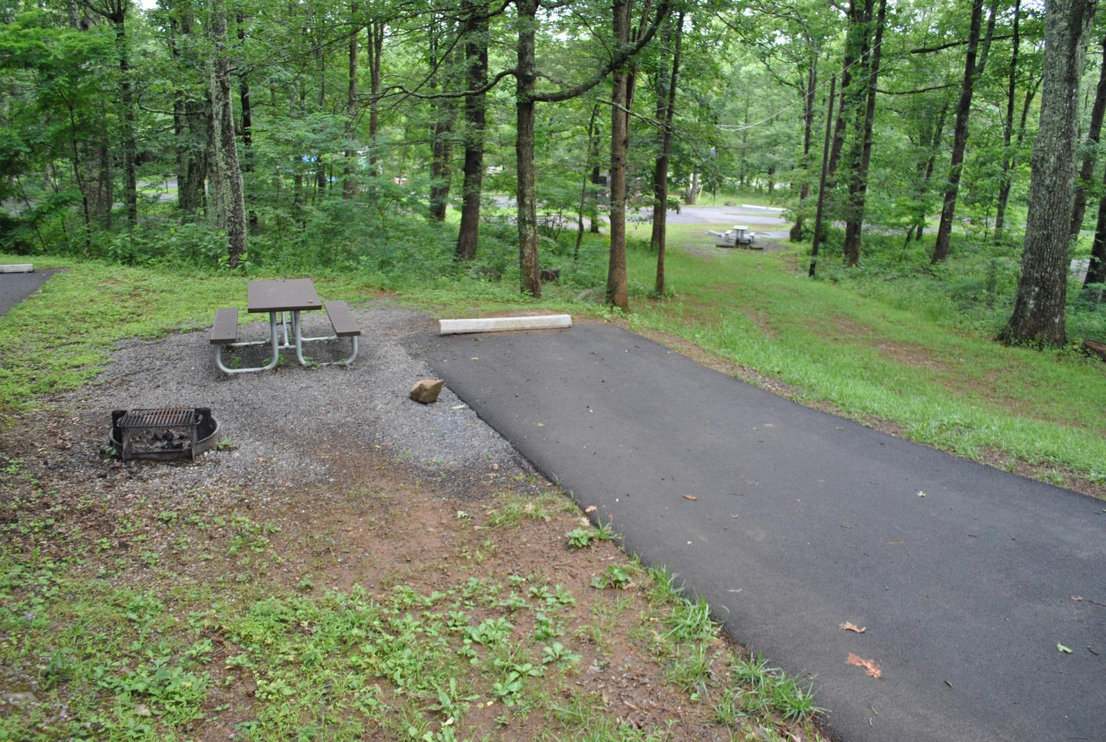 Mathews Arm Campground - Site B118