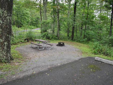 Mathews Arm Campground - Site B123