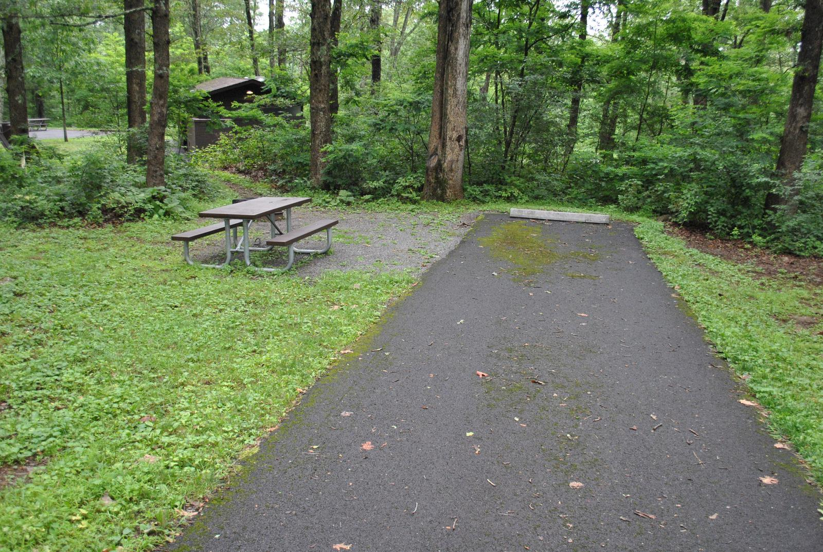 Mathews Arm Campground - Site B129