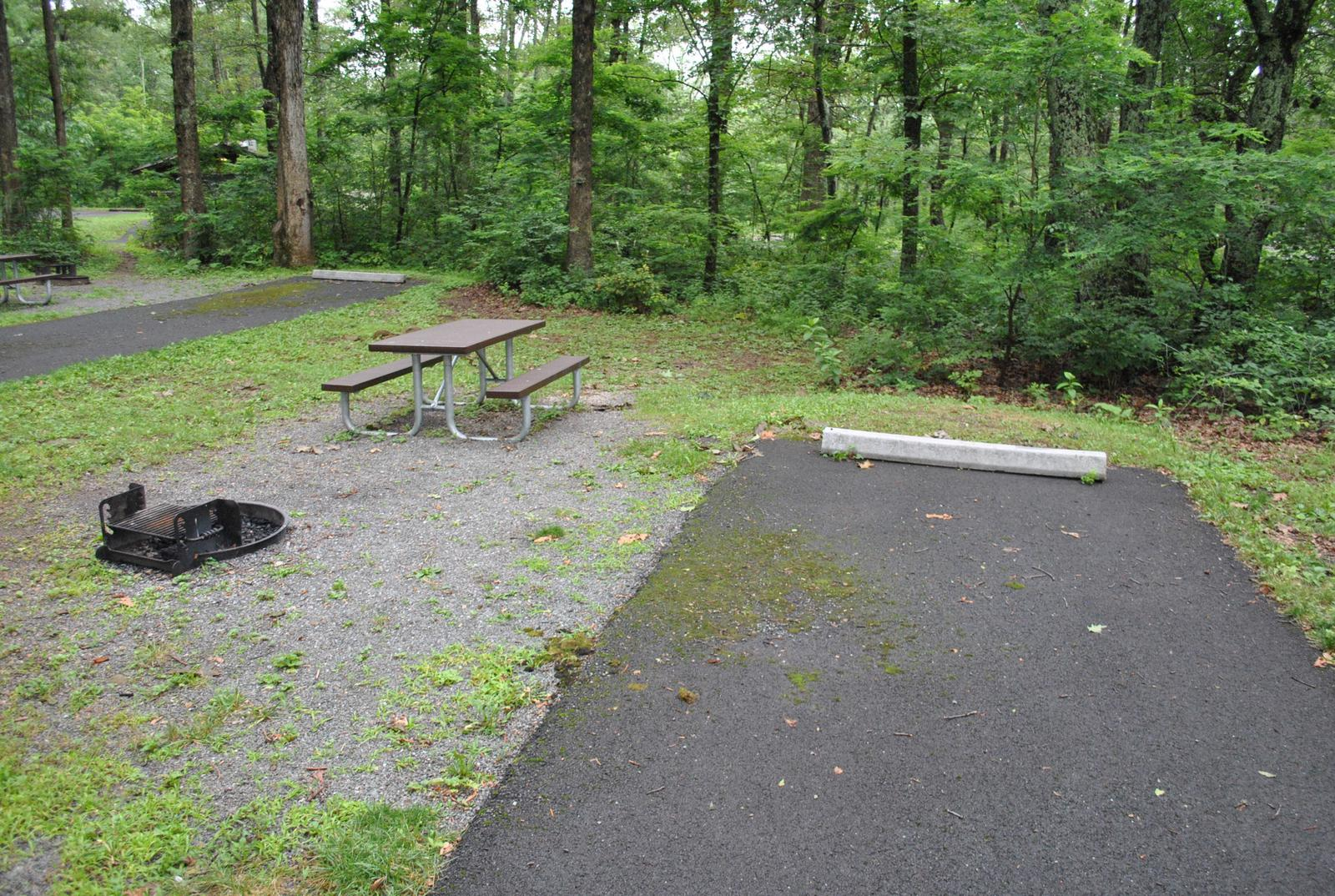 Mathews Arm Campground - Site B132