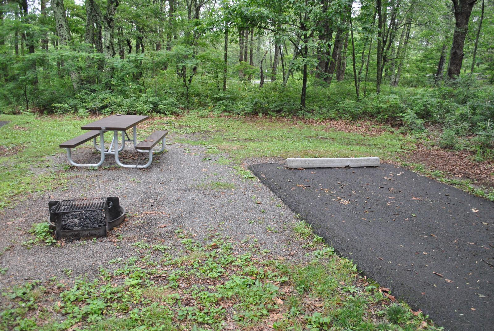 Mathews Arm Campground - Site B134