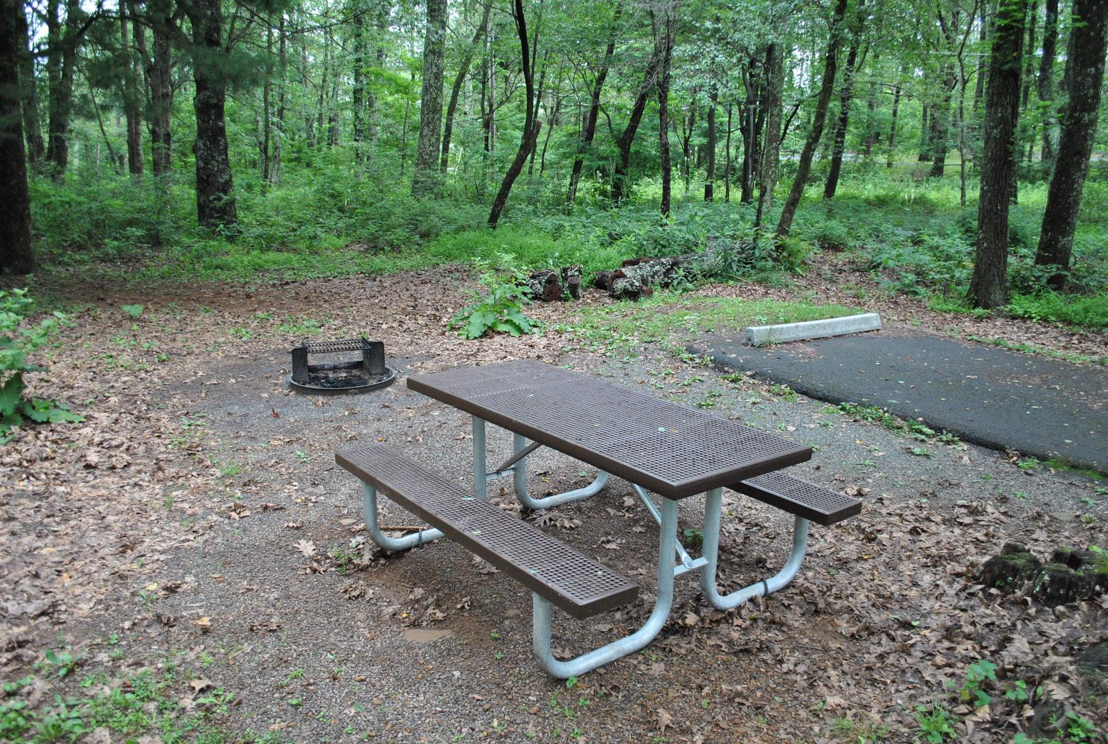 Mathews Arm Campground - Site B136