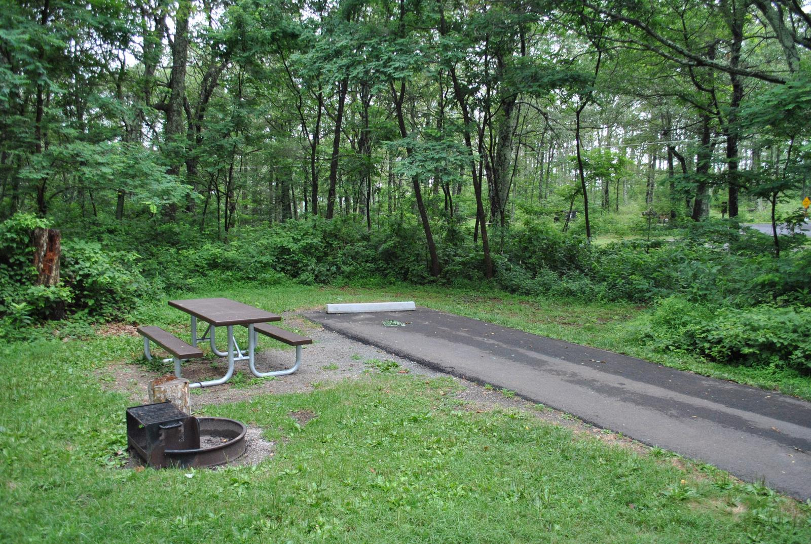 Mathews Arm Campground - Site B140