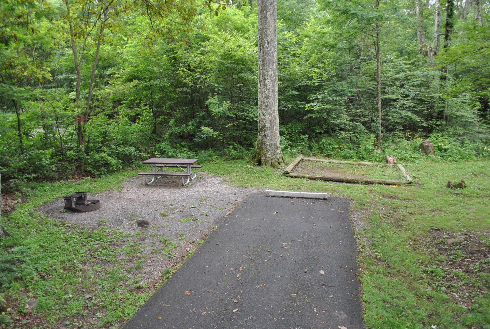 Mathews Arm Campground - Site B141