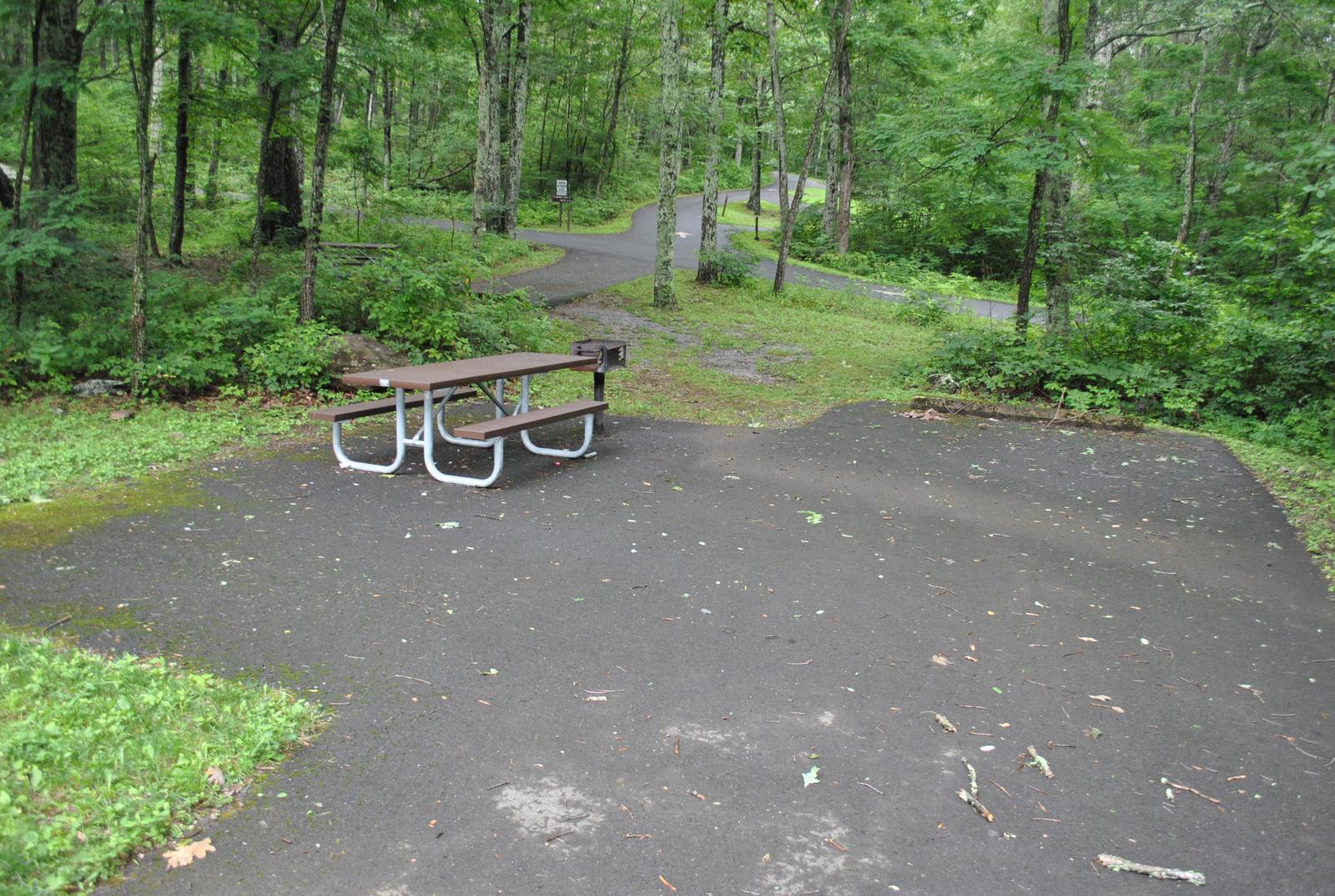 Mathews Arm Campground - Site C143