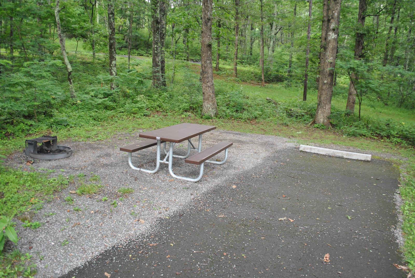 Mathews Arm Campground - Site C146