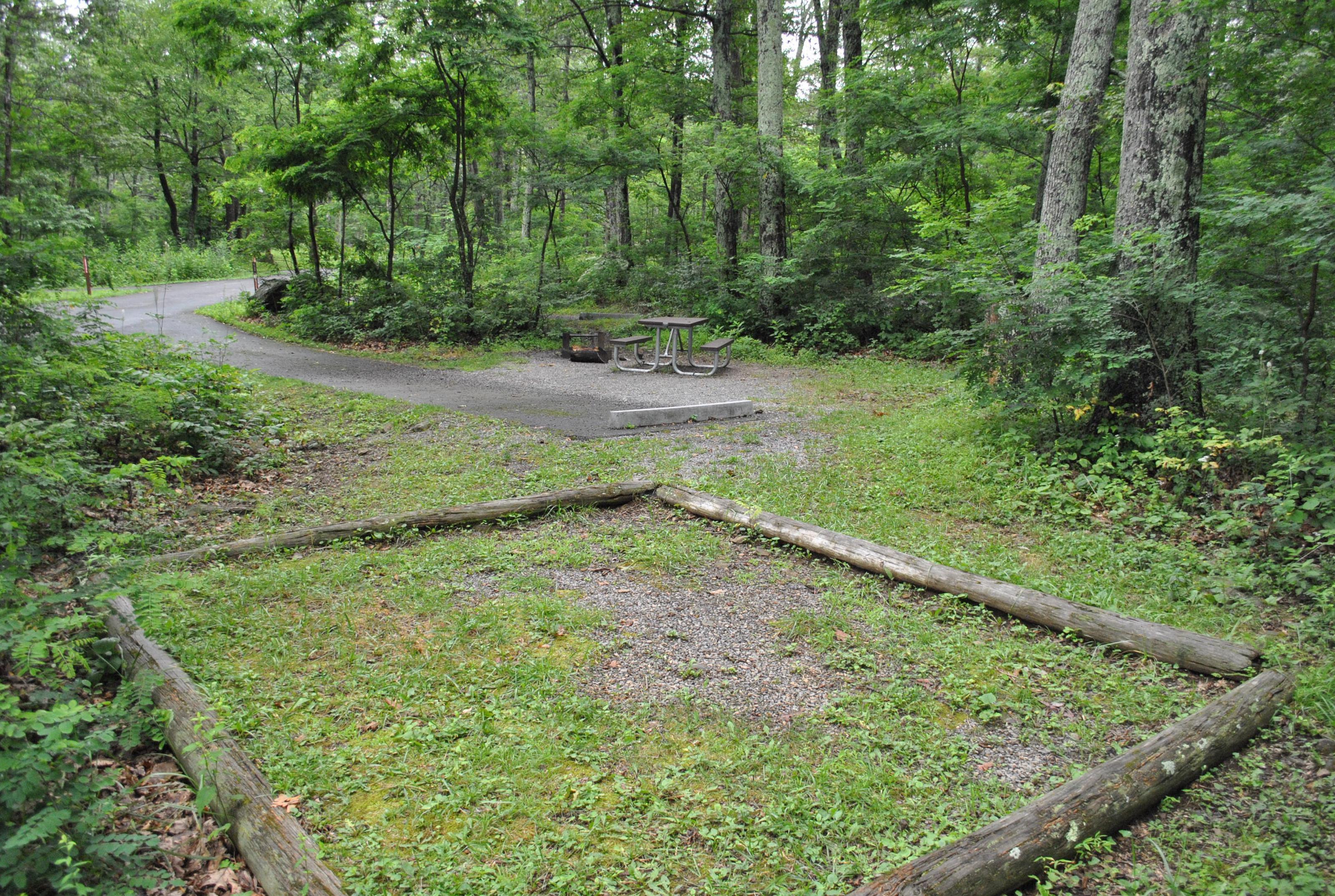 Mathews Arm Campground - Site C152