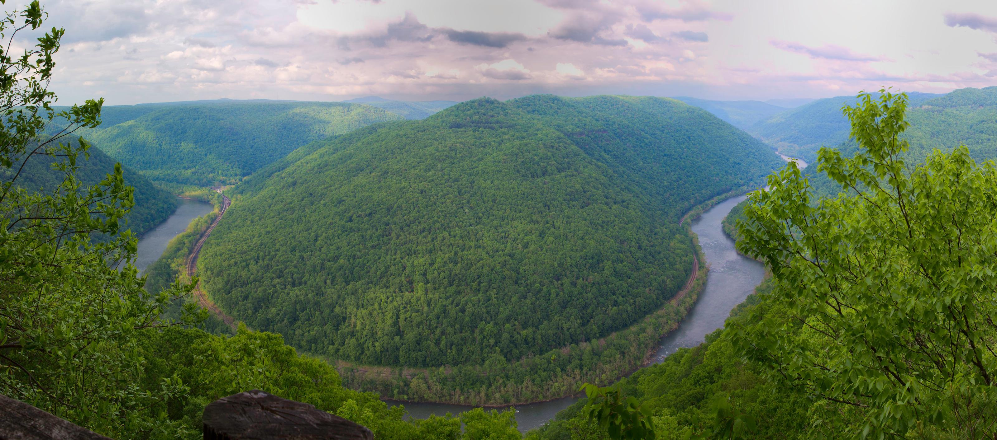 View from Main Overlook at Grandview