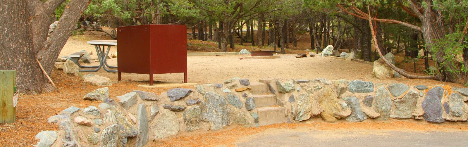 Site 15, Pinon Flats Campground