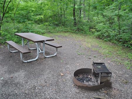Mathews Arm Campground - Site C154