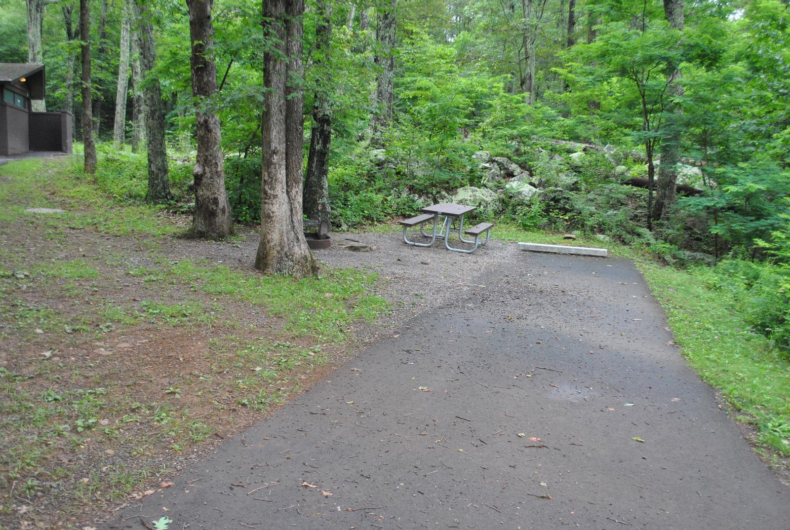 Mathews Arm Campground - Site C160
