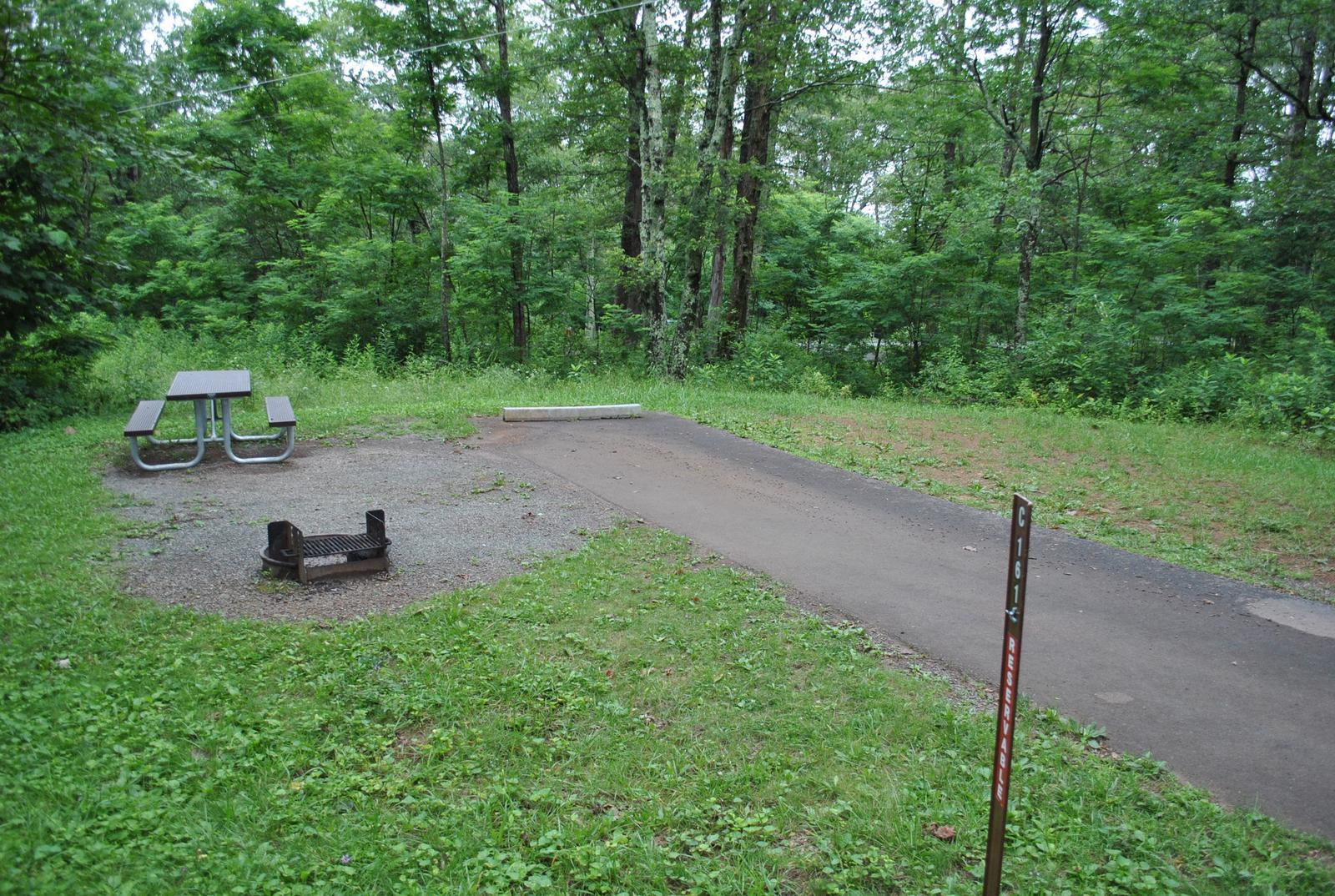 Mathews Arm Campground - Site C161