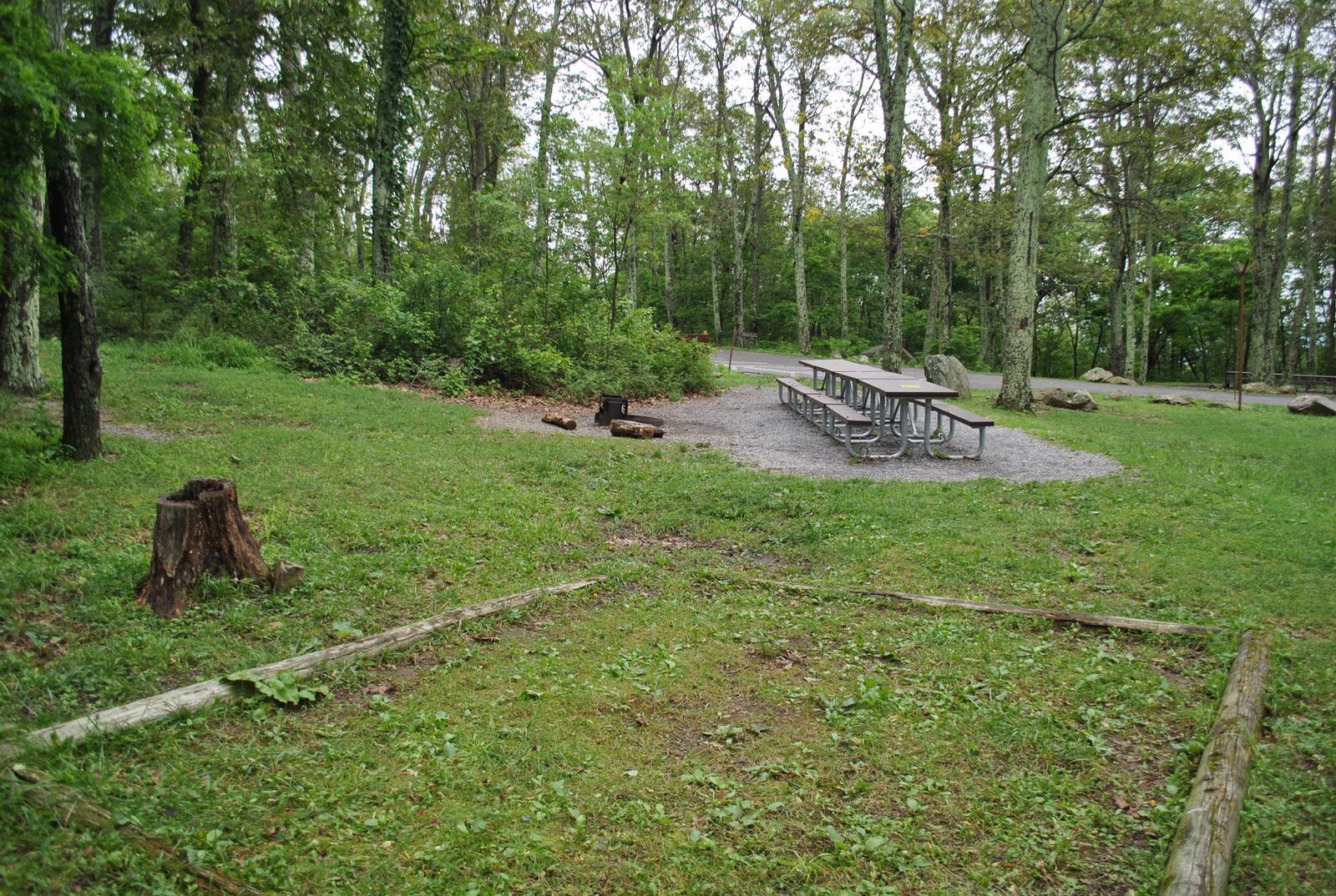 Mathews Arm Campground - Site D167