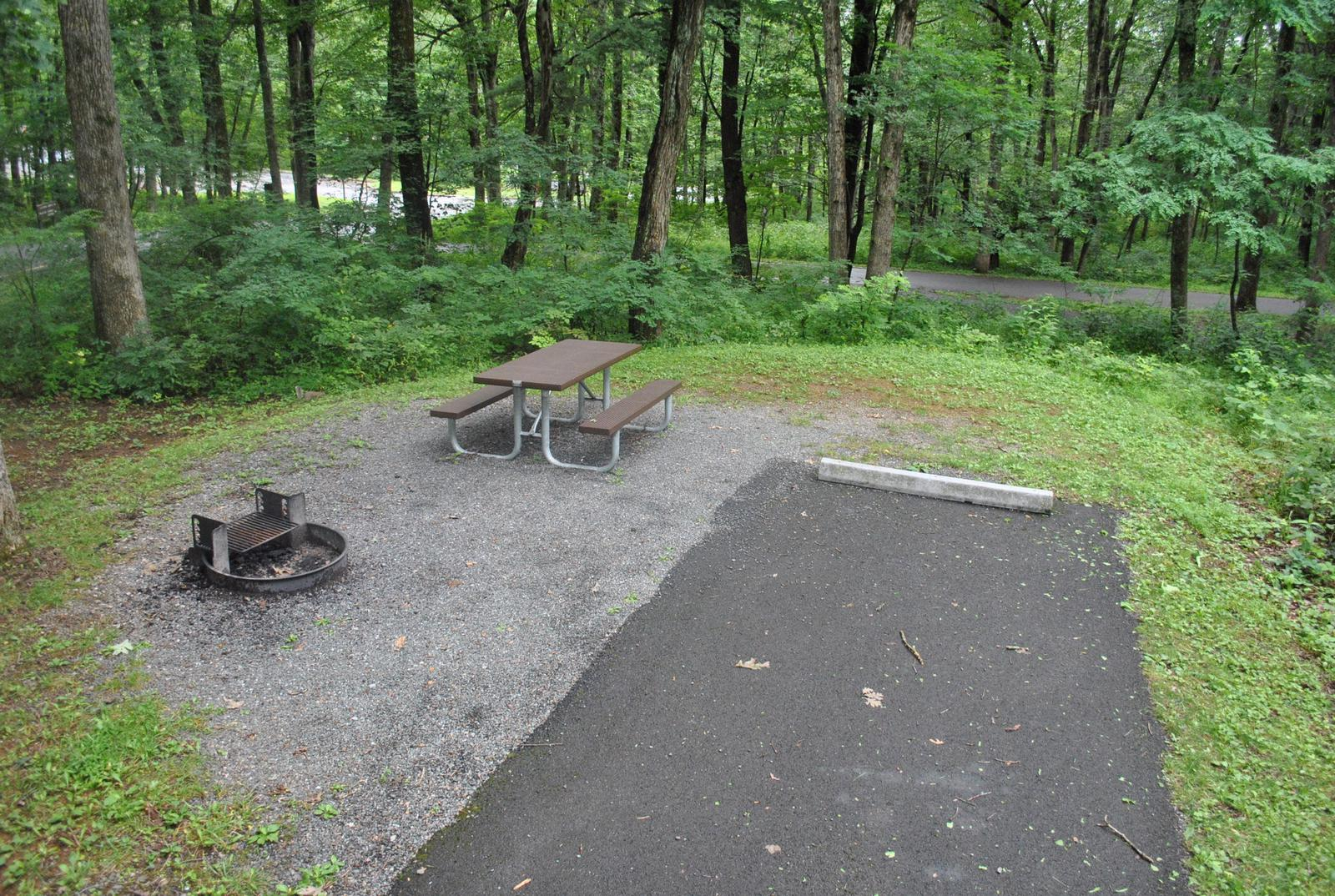 Mathews Arm Campground - Site A002