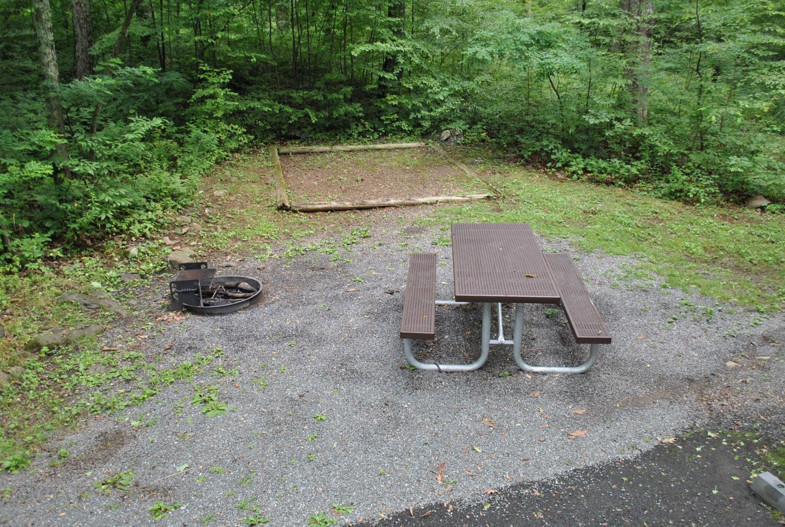 Mathews Arm Campground – Site A021