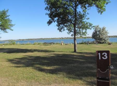 Campsite #13 Wolf Creek Campground