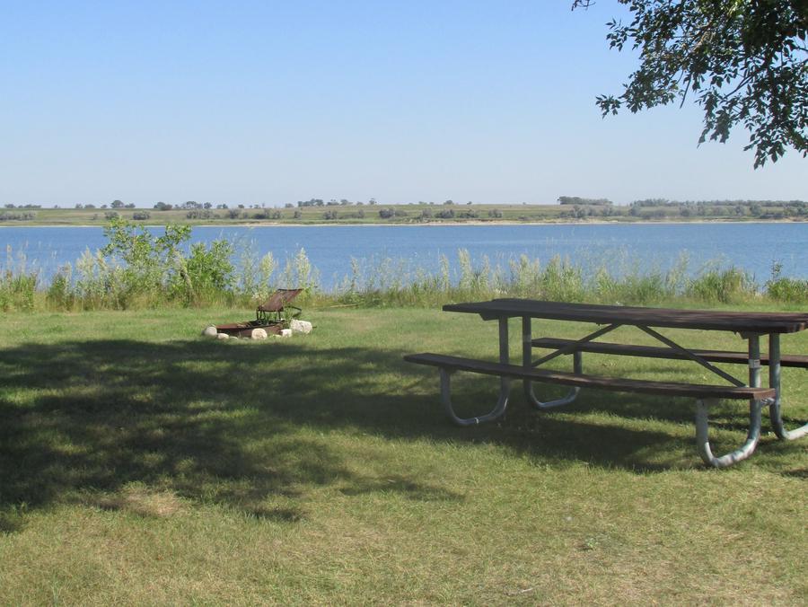 Campsite #14 Wolf Creek Campground