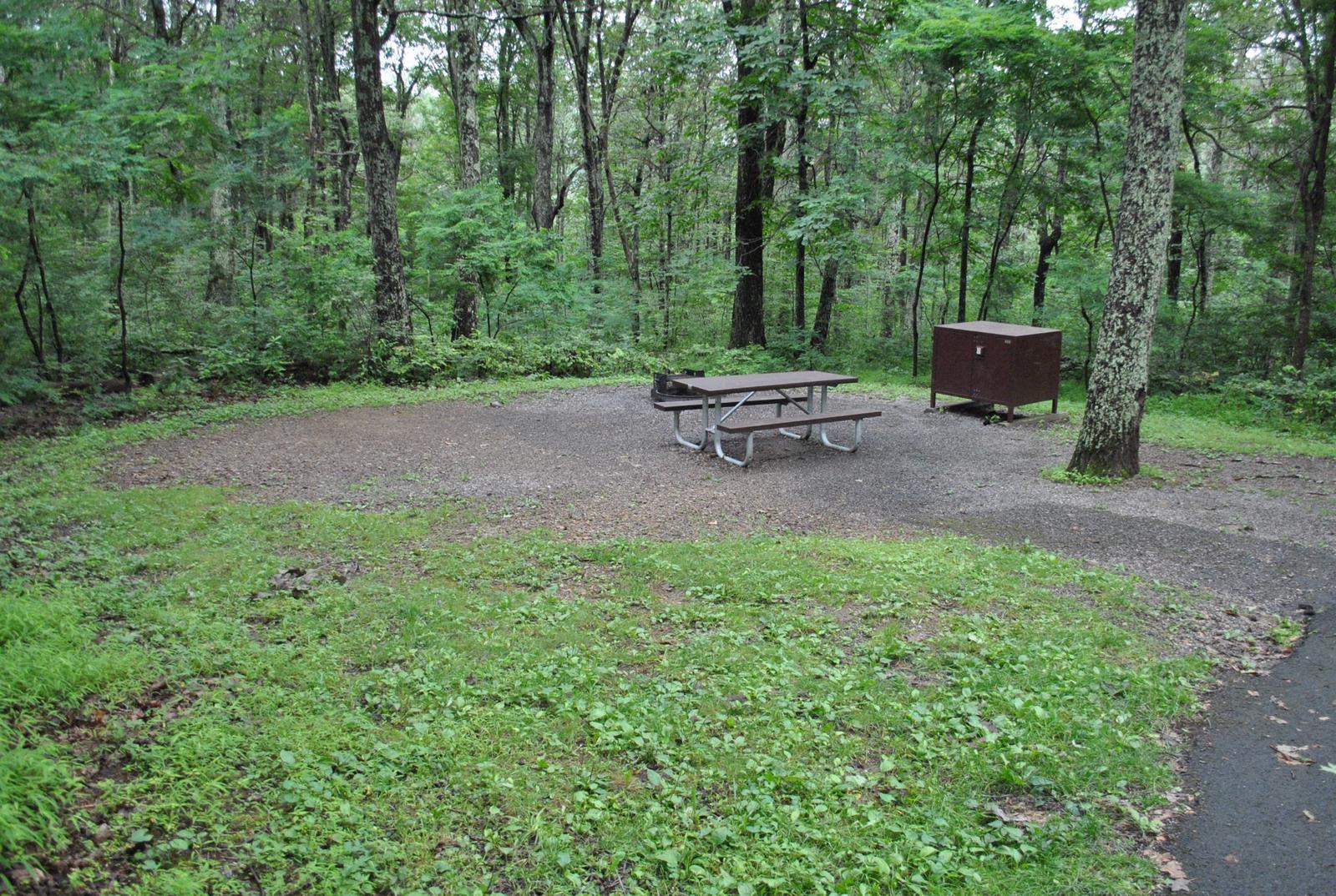Mathews Arm Campground – Site A027