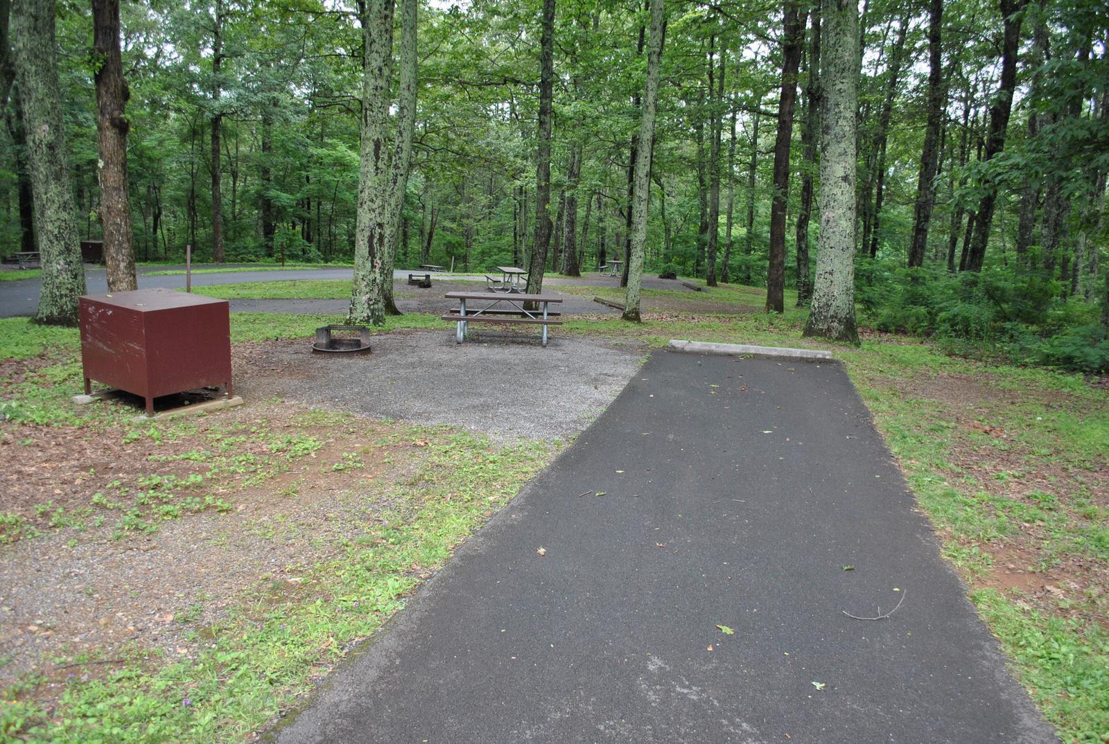 Mathews Arm Campground – Site A030