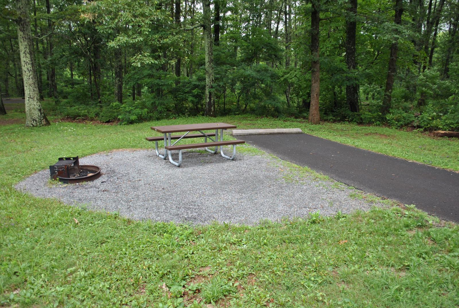 Mathews Arm Campground – Site A032