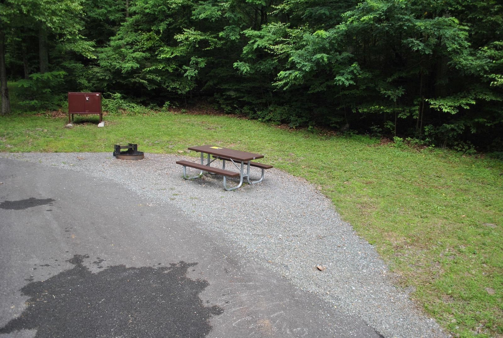 Mathews Arm Campground – Site A033
