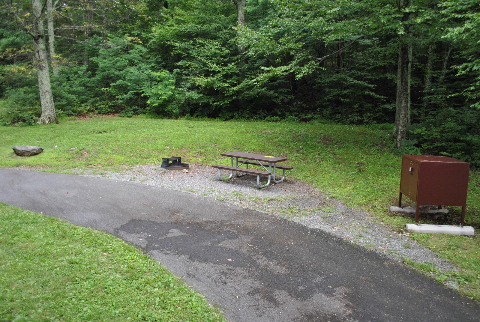 Mathews Arm Campground – Site A035