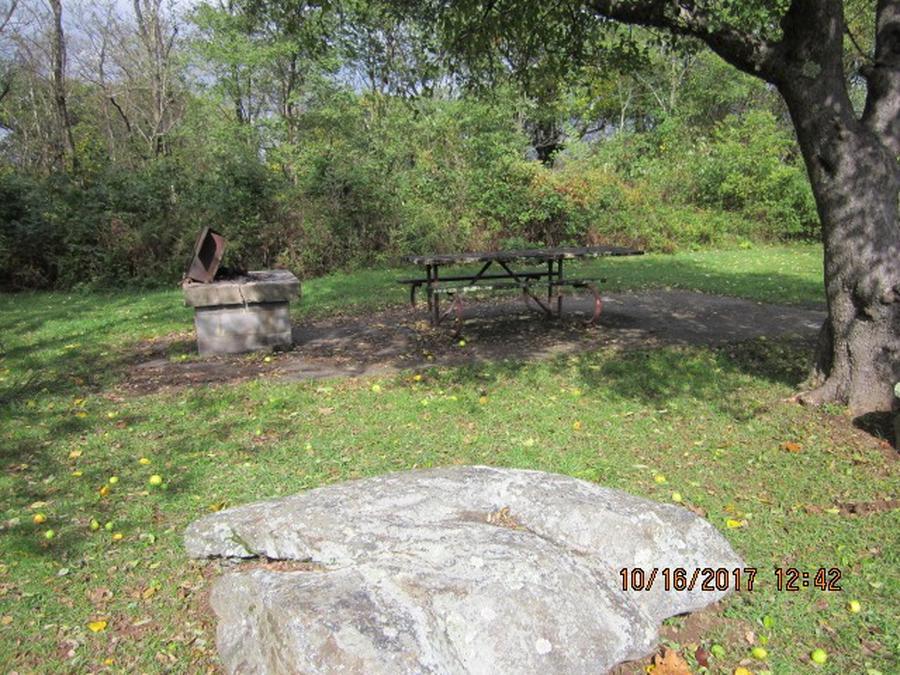 Loft Mountain Campground - Site G187