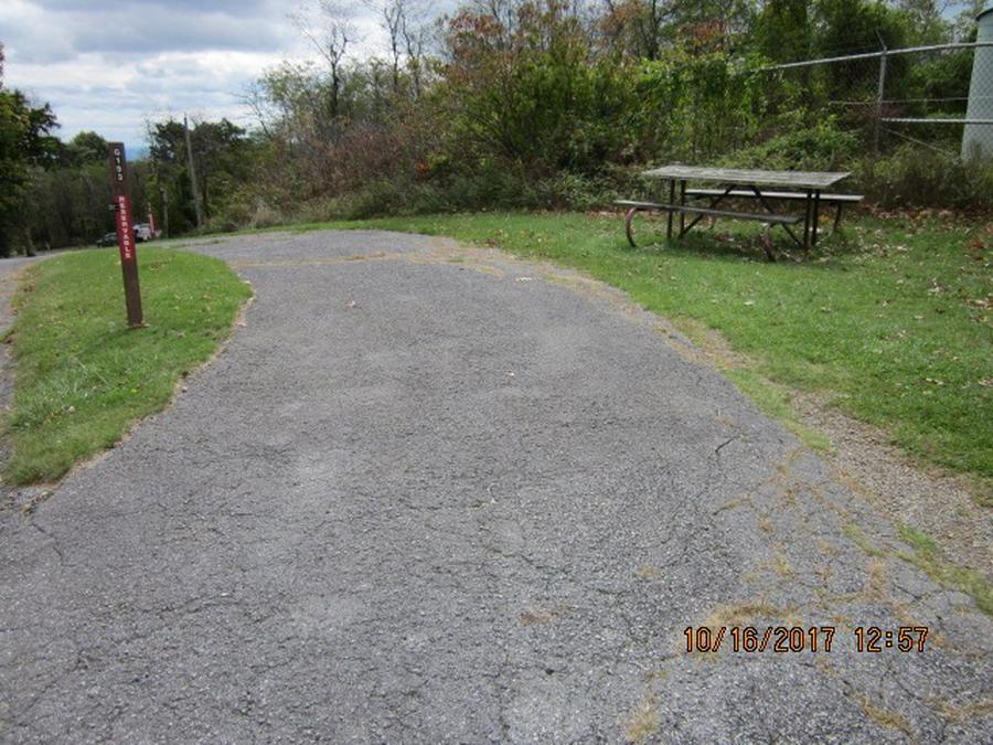 Loft Mountain Campground - Site G193