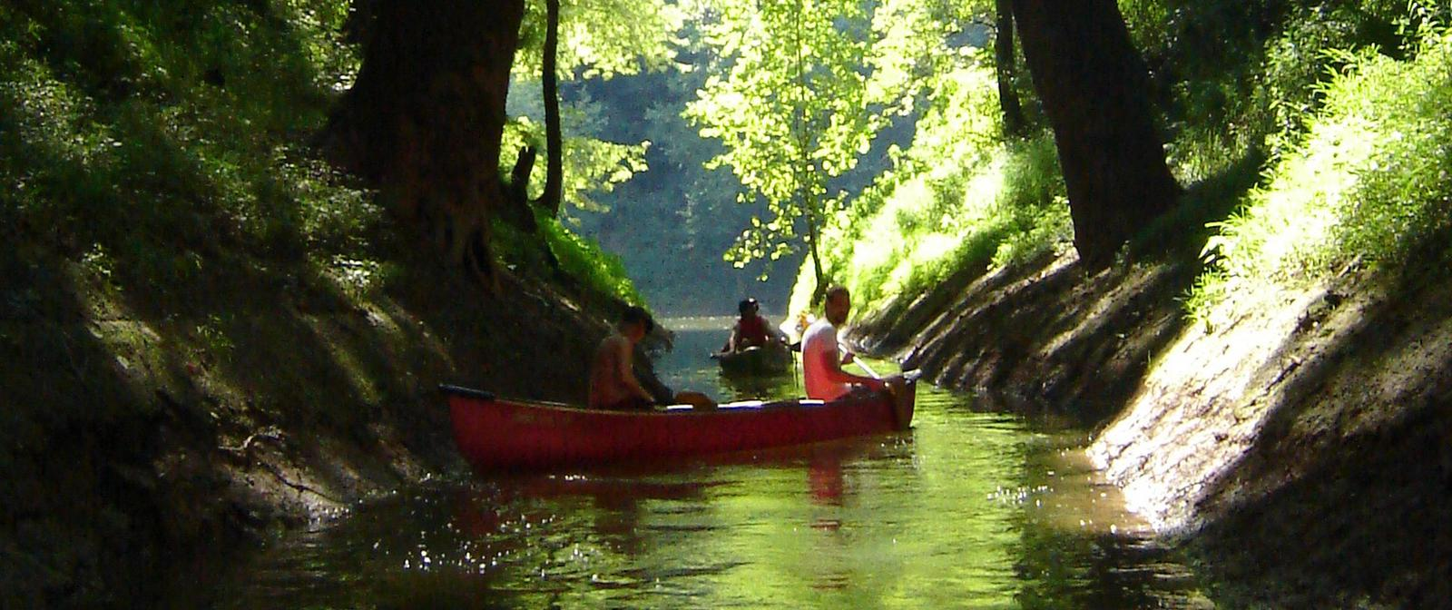 Canoeing the Green River