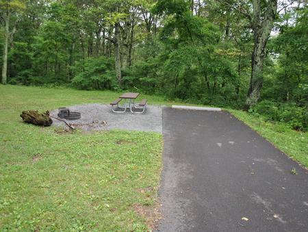 Mathews Arm Campground – Site A048
