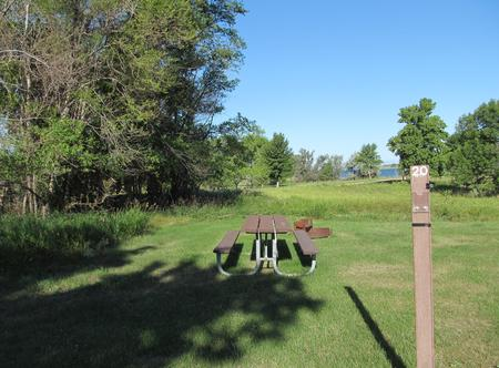 Campsite #20 Wolf Creek Campground