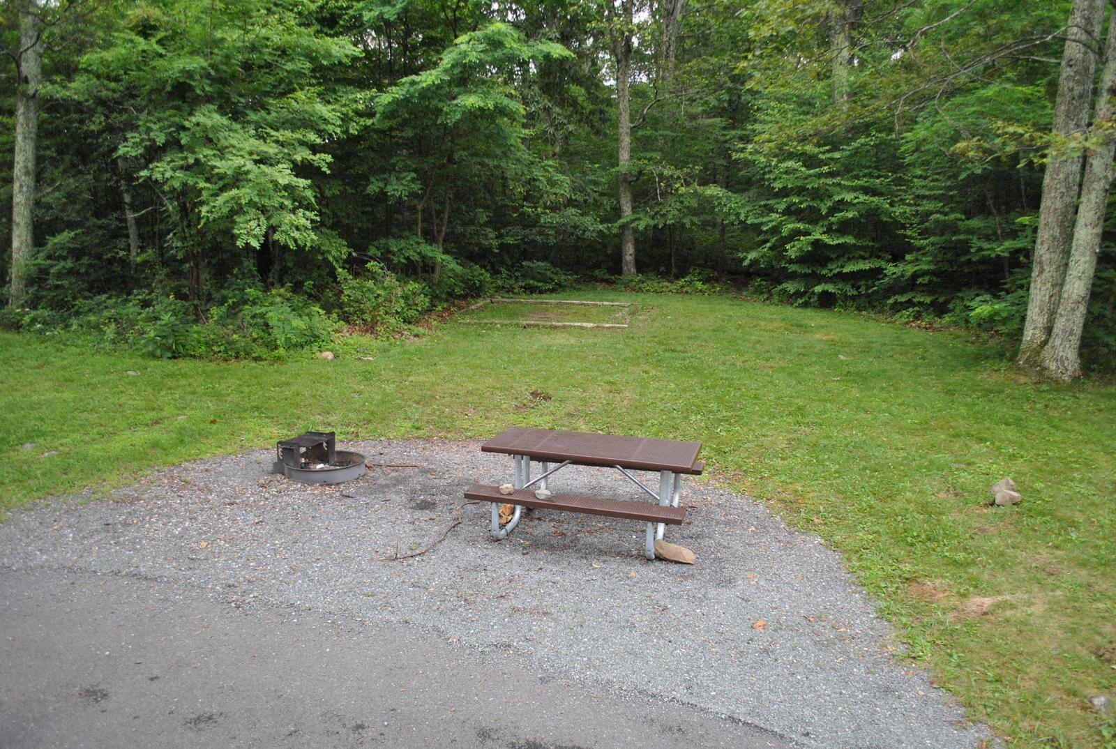 Mathews Arm Campground – Site A049