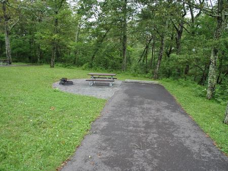 Mathews Arm Campground – Site A052