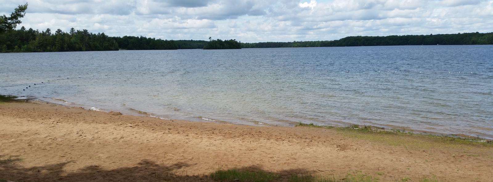 Franklin Lake BeachFranklin Lake Beach