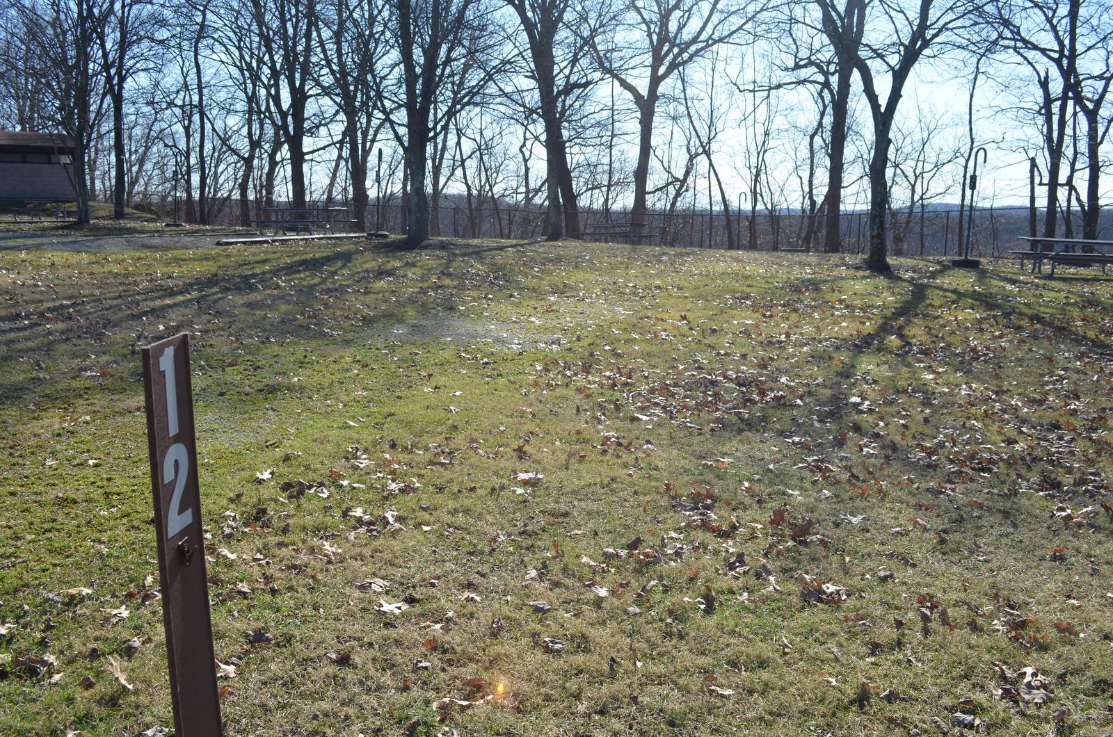 Crooked Creek Lake - Site 12